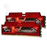 G.Skill F3-12800CL9D-8GBXL 8GB (2 x 4GB) DDR3 PC3-12800 RipjawsX Series for Sandy Bridge (9-9-9-24) Dual Channel kit Desktop Memory Module