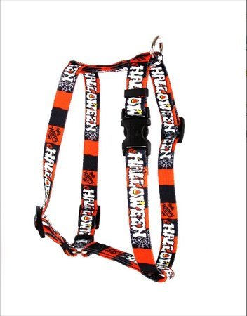 Yellow Dog Design H-HH100XS Happy Halloween Roman Harness - Extra Small]()