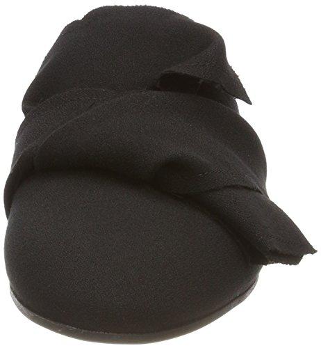 Marc Cain Damen Jb Sk.10 W08 Slipper Schwarz (zwart)