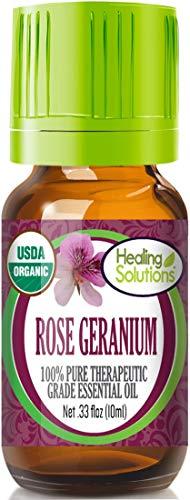 Organic Rose Geranium Essential