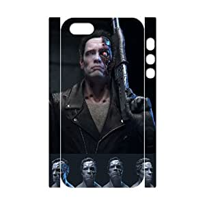 XOXOX Customized Cell phone Cases of The Terminator 2 Phone 3D Case For iPhone 5,5S [Pattern-5]