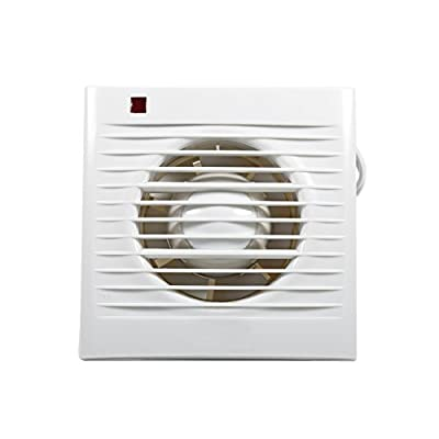 Extractor Fan Wall Mounted Ventilating Exhaust Fan For Home Kitchen Bathroom Toilet Window Wall