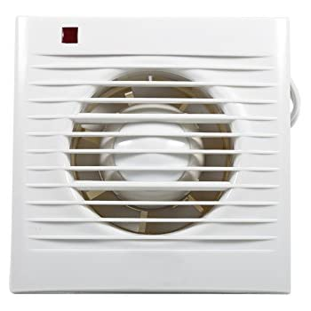 Low Energy Ventilating Exhaust Extractor Fan For Bathroom Toilet Kitchen  Window Wall Mounted 220V (4