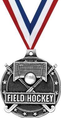 (Crown Awards Field Hockey Medals - 2