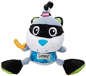 Lamaze 27081 - Muñeco educativo en forma de mapache para bebés