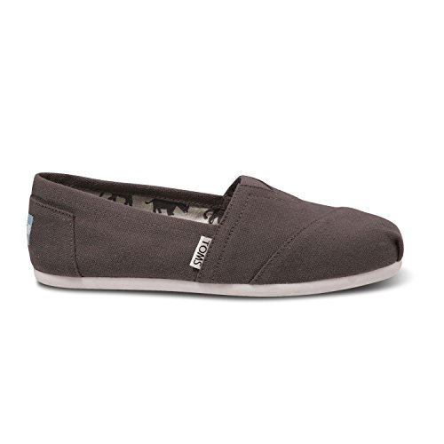 TOMS Women's Classic Sneakers Shoes (38 M EU/7.5 B(M) US, Ash)