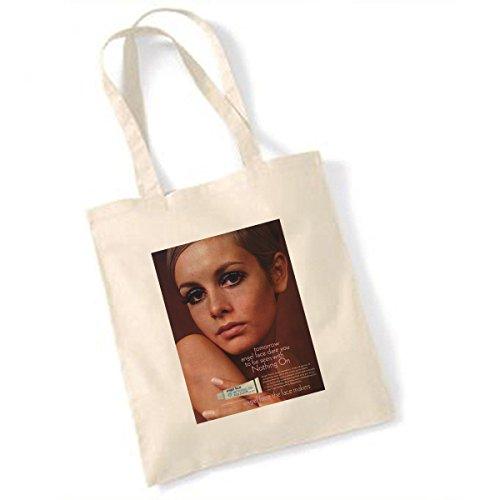 Angel Face Werbung (Twiggy) Tasche