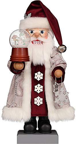 Christian Ulbricht Nutcracker - Santa Snow Globe - 47 cm / 18.5 inch