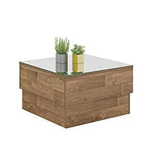 Artely Parati Coffee Table, Rustic, H 35 x W 60 x D 60 cm