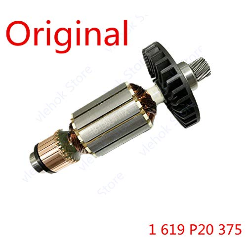 1 piece Armature Rotor for BOSCH GDC140 1 619 P20 375 1619P20375 marble cutting machine tool Power Tool Accessories tools part
