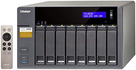 QNAP TS-853A NAS Torre Ethernet Aluminio, Negro - Unidad Raid (8 ...