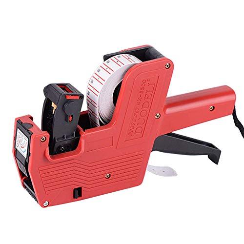 Sebami Etiquetadora Pistola de Precios 1 línea 8 Caracteres Precios al por Menor Kit de la Pistola de Etiquetas (5000 pcs) &...
