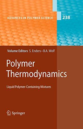 Polymer Thermodynamics: Liquid Polymer-Containing Mixtures (Advances in Polymer Science Book 238) (Flory Models)
