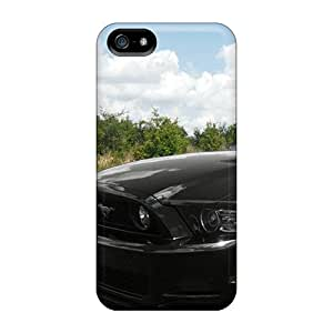 MoFvJuj6696WnAMK Anti-scratch Case Cover AdamDEdds Protective Black Ford Mustang Case For Iphone 5/5s