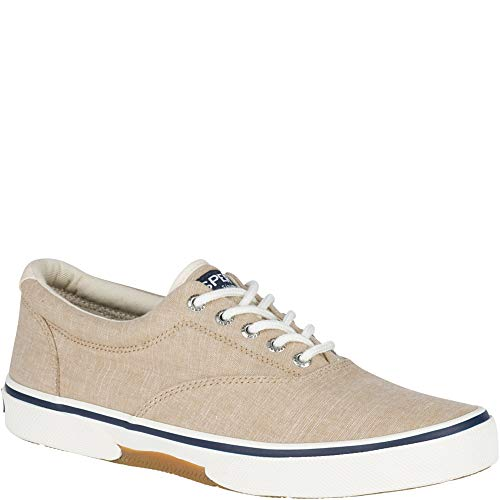 Sperry Top-Sider Halyard CVO Chambray Sneaker Men 12 Tan