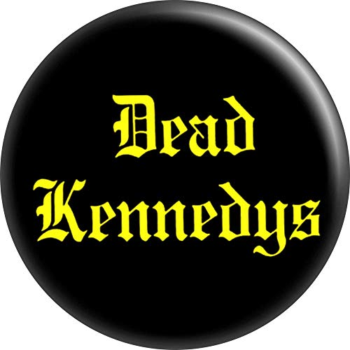 Dead Kennedys - Yellow on Black - 1.25