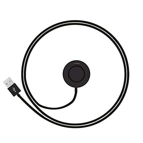 Ocamo - Cable de Carga magnético USB para Huawei Smart Watch, Negro