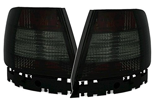 (AD Tuning GmbH and Co. KG 960122 Rear Lights Set Clear Glass Black)