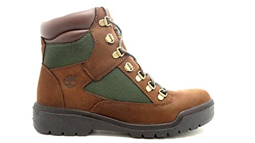 Timberland Mens 6-Inch Waterproof Field Chocolate Old River Boot - 7.5