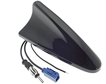Shark Antena AM/FM/GPS Antena Fakra DIN tejado Sharkfin ...