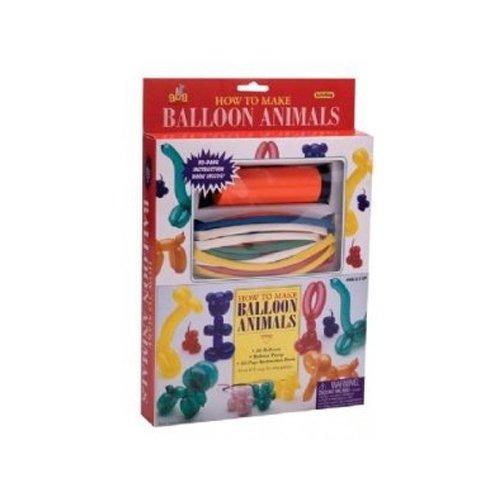 Balloon Animals Book - How to make a balloon animals kit