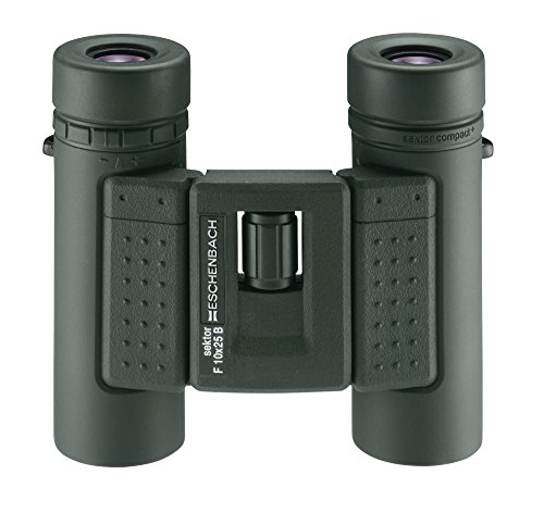 Eschenbach sektor F 10x25 compact+ binoculars, green
