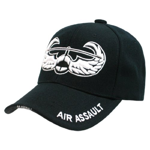 Rapid Dom US Military Legend Branch Logo Rich Embroidered Baseball Caps S001 Air ()