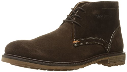 Hush Puppies Men's Benson Rigby Chukka Boot, Dark Brown Suede, 13 M US