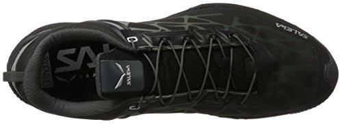 SALEWA Herren Multi Track Gore-Tex Halbschuh, Zapatillas de Deporte Exterior para Hombre Multicolor (Black/silver)
