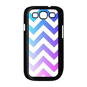 Chevron Stripes Use Your Own Image Phone Case for Samsung Galaxy S3 I9300,customized case cover ygtg623671