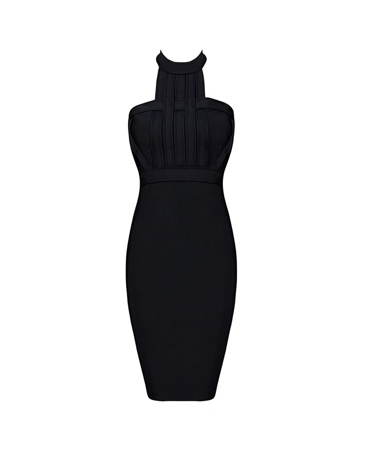 Whoinshop Women's Prom Halter Dress Ladies Sexy Backless Party Dress