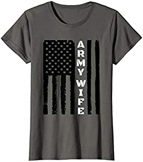 [Featured] Womens Proud Army Wife - Military Wife Veteran's Day Gift Idea in ALL styles | Size S - 5XL