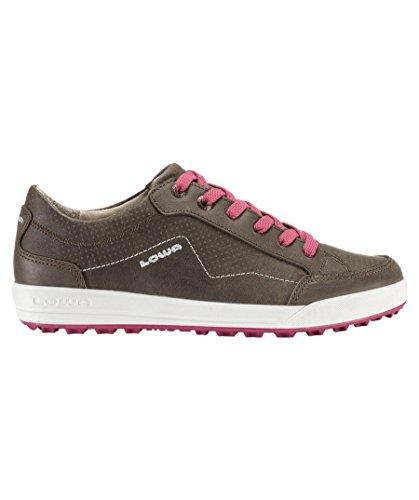 Zapatillas para mujer/zapatos de viaje Merions low Olive/Bee Marrón marrón Talla:5.5 Marrón - marrón