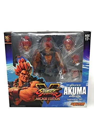 Storm Collectibles Street Fighter V: Arcade Edition Akuma (Nostalgic Costume) 1/12 Action Figure