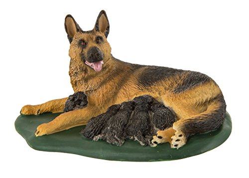 (Safari Ltd. Best in Show – German Shepherd with Puppies – Realistic Hand Painted Toy Figurine Model – Quality Construction from Safe and BPA Free Materials – for Ages 3 and Up )