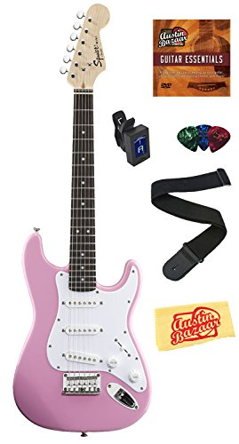 squier-by-fender-mini-strat-electric-guitar-bundle-with-clip-on-tuner-strap-picks-austin-bazaar-inst