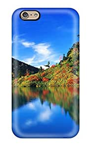 SquYzyA6920mwDMJ CaseyKBrown Awesome Case Cover Compatible With Iphone 6 - Autumn Reflection Japan