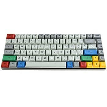 Vortexgear Race 3 75% Size TKL Programmable Mechanical Gaming Keyboard - Grey Alu Casing - PBT DSA Profile Dye Sub Keycaps - Cherry Mx Switches [CNC ...
