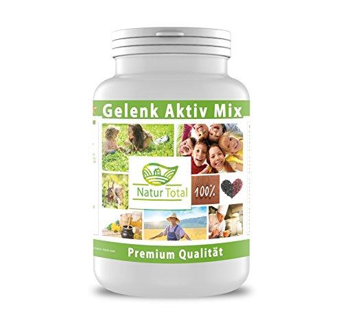 Gelenk Aktiv Mix 400g   Das Schmiermittel für die Gelenke mit Glucosamine + Hyaluronsäure +Chondroitin + MSM