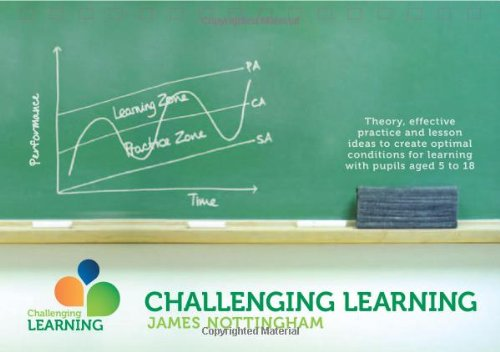 Challenging Learning: Theory, Effective Practice and Lesson Ideas to Create Optimal Learning Conditions for Learning with Pupils Aged 5 to 18