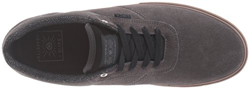 C1RCA Men's Gravette Skateboarding Shoe, color Gris 9.5 USA / 42.5 EUR