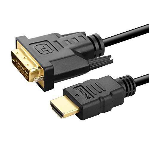 eForCity HDMI to DVI Adapter Cable Cord M/M , 10FT