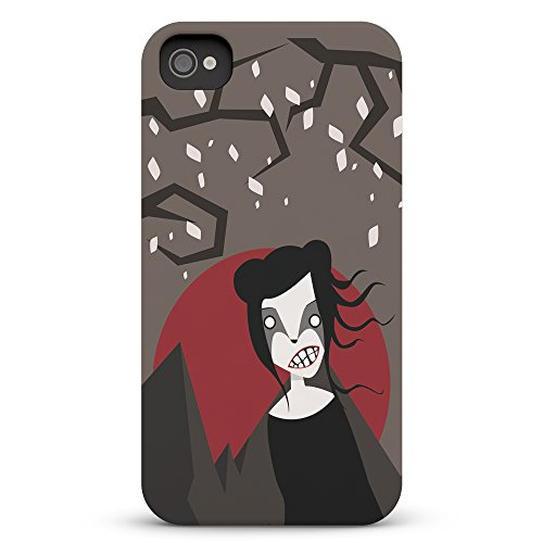 Koveru Back Cover Case for Apple iPhone 4/4S - Witch in the Dark