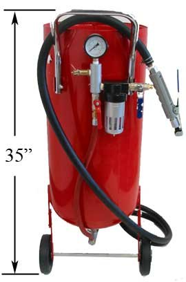 Professional 20 Gallon Sandblaster Abrasive Media Tank by Generic