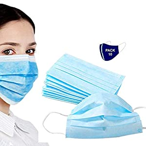 Best Disposable Face Mask with 3 Layer Filter to protect Covid-19