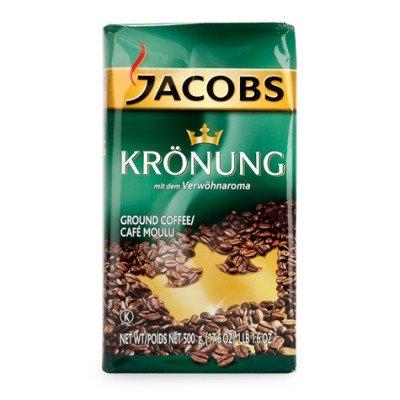 Jacobs Krounung Ground Coffee - 1 case (12x 500 (German Ground Coffee)