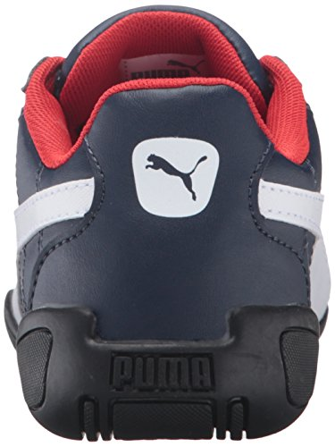 PUMA Tune Cat 3 Kids Sneaker (Little Kid), Peacoat/Puma White, 13 M US Little Kid