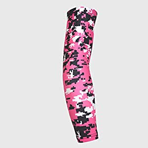 Digital Camo Arm Compression Sleeves - Ideal for Football