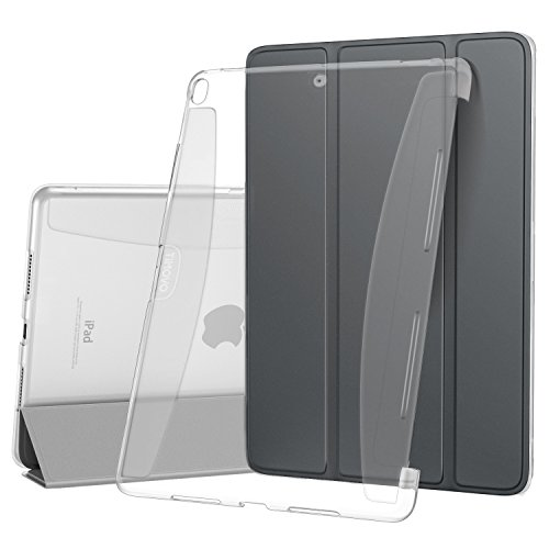 iPad Pro 10.5 Case, TiMOVO Smart Case [Light Weight] Slim Translucent Frosted Back Protector, with Auto Wake/Sleep Function, Detachable Magnetic Cover for Apple iPad Pro 10.5'' 2017 Release, Space Gray by TiMOVO