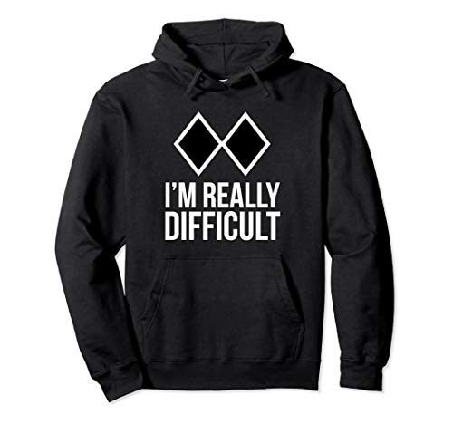 Funny Ski Snowboard Hoodie Sweatshirt. I'm Really ()